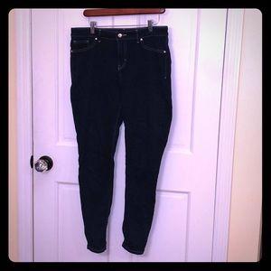 Jennifer Lopez Jeans - Jennifer Lopez Dark Wash Skinny Jeans